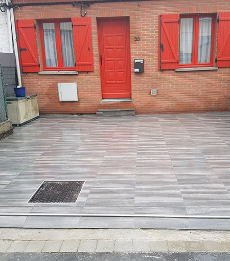Construction de terrasses Tourcoing